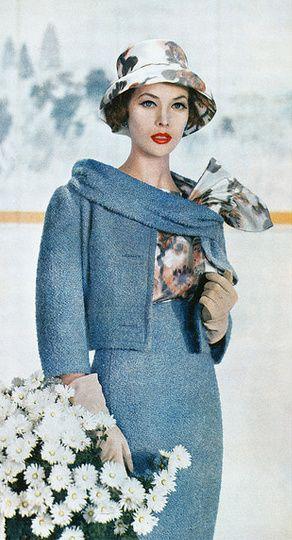 1959 Suit By David Kidd Of Arthur Jablow Photograph By Louis Dahl