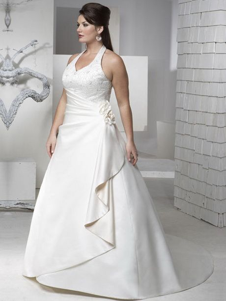 vestido de novia para gorditas civil | Bodas | Pinterest | Gordita ...