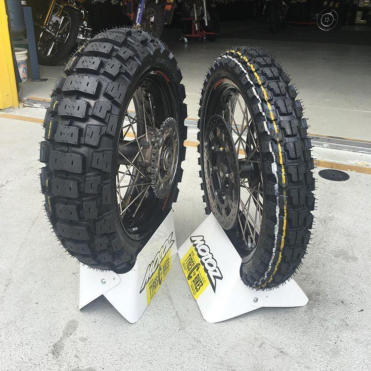 Tractionator Adventure 170 60b17 120 70b19 In Testing Now Motorcycle Tires Adventure Bike Cafe Racer Bikes