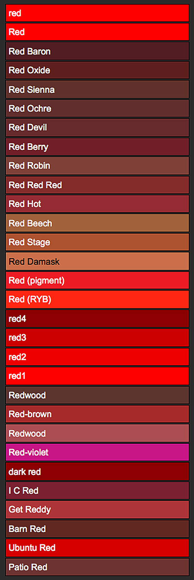 Red Variations The House Of Beccaria