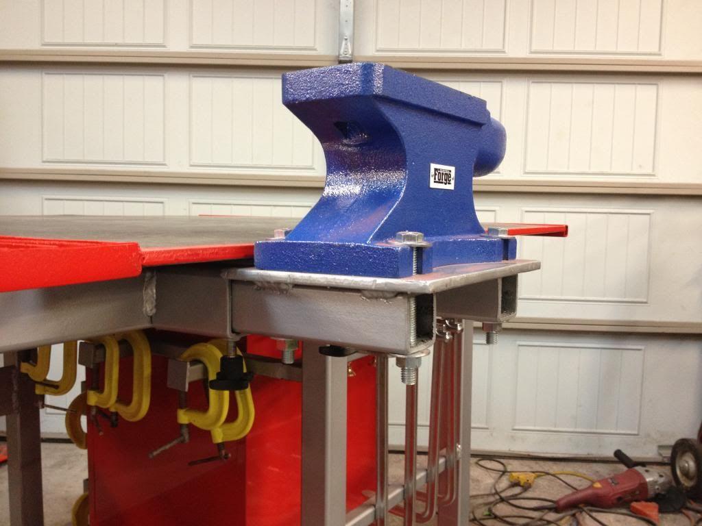 Welding Table Build Powerstrokearmy Table De Soudage Mobilier De Salon Soudage