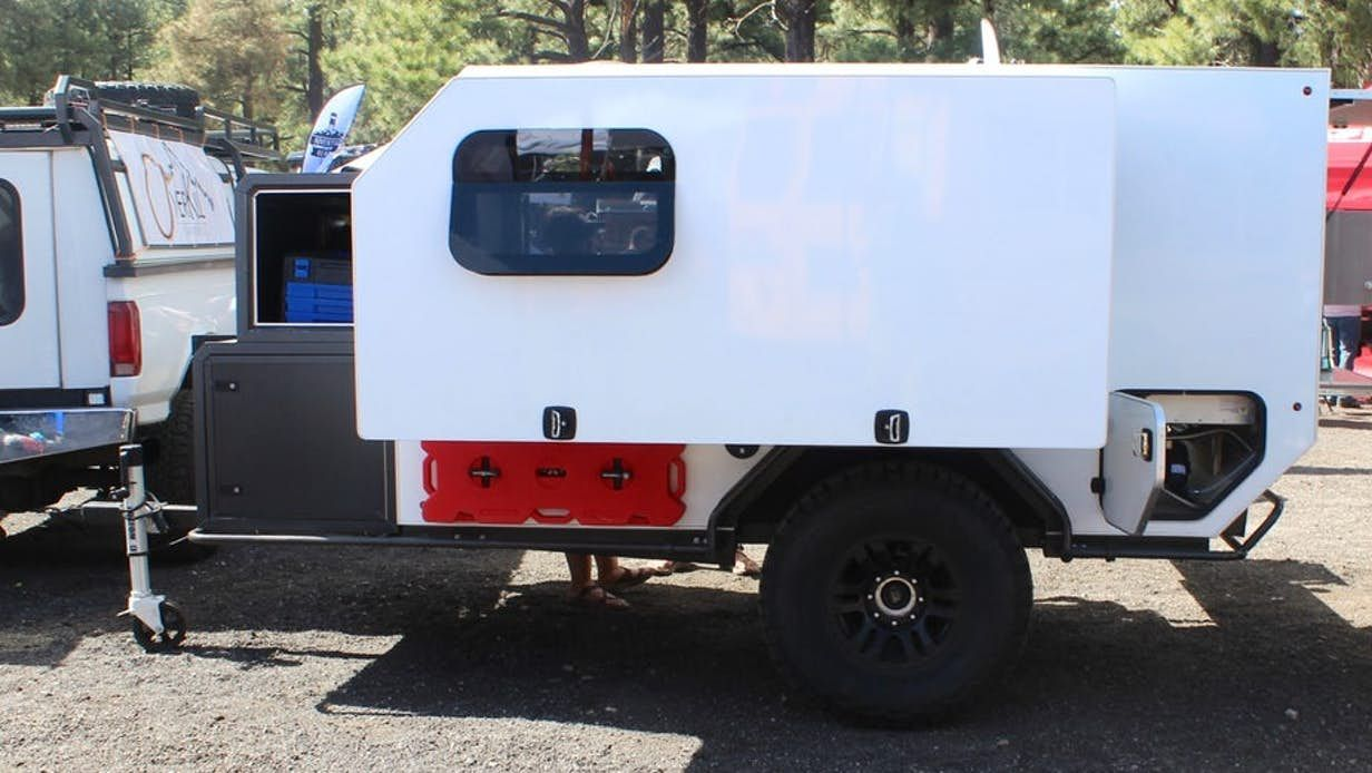 Off Road Trailers For Sale Used >> Overkill Adventure Trailer Pops Out To Provide A Comfy