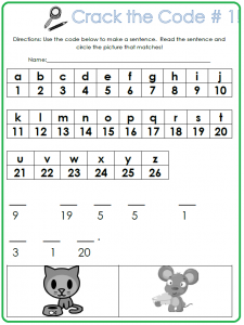 photograph regarding Crack the Code Worksheets Printable identify Split the Code K Sight Phrase Sport Kindergarten! Sight