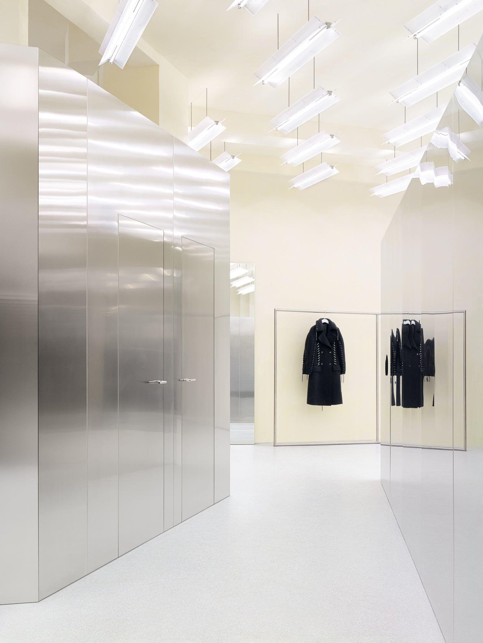 Www Acnestudios Com Ladeninneneinrichtung Shop Innenarchitektur Design