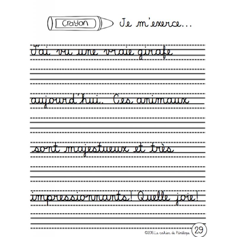 Www Lecahierdepenelope Com Cahier Pour L Apprentissage Progressif De L Ecriture Cursive Cursive Ecriture Cursive Cursive Ecole