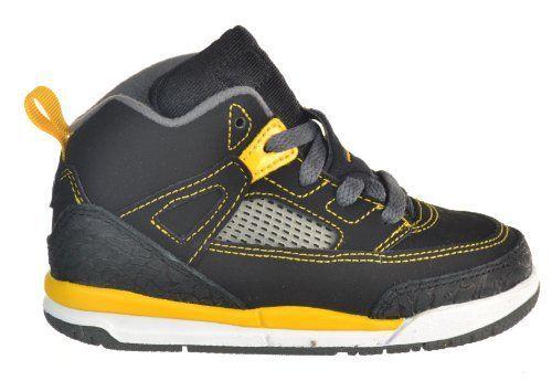 new arrival f4085 e5b1b Jordan Spizike (TD) Toddlers Shoes Black/Yellow Gold/White ...