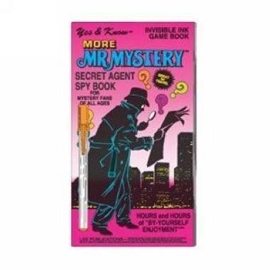 more mr mystery invisible ink game book