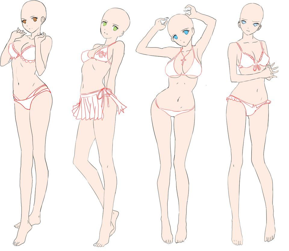 Anime Girl Body Base