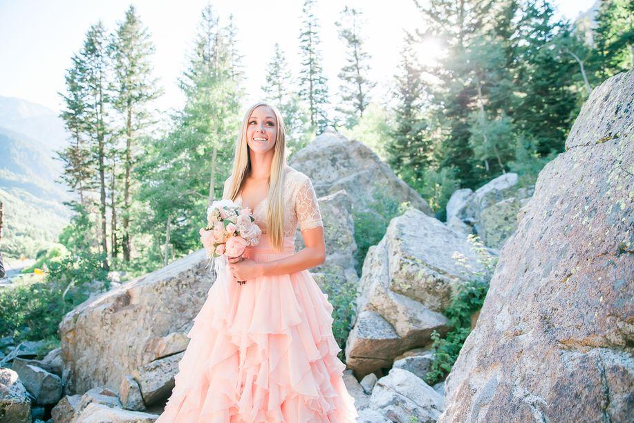 Anastasia Strate photography, Utah wedding photography, pink wedding ...