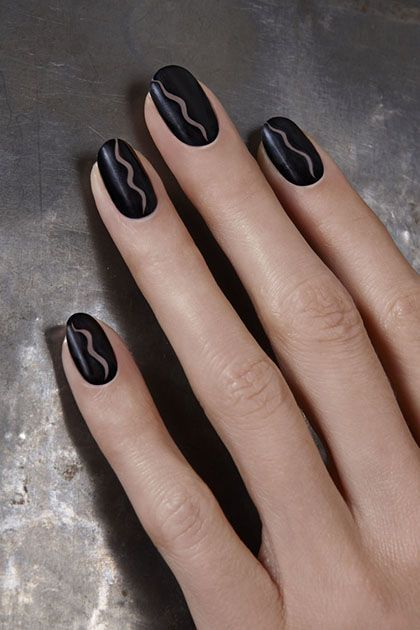 Nail Art So Easy All You Need Is A Bobby Pin