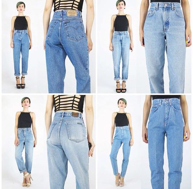 Honeymoon muse - mom jeans styled