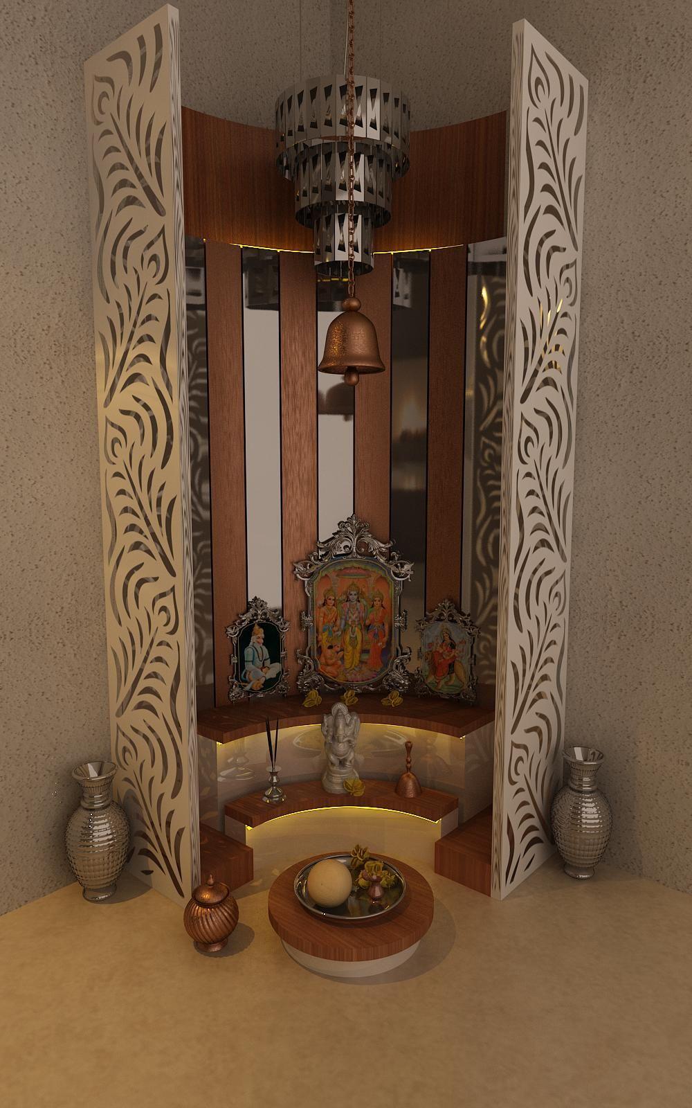 25 Best Images About Puja Room On Pinterest: Pooja Room By Kamlesh Maniya, Interior Designer In Surat
