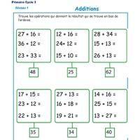 Additions CE2 - CM1 - CM2 | Ce2 cm1, Ce1 et Cm1