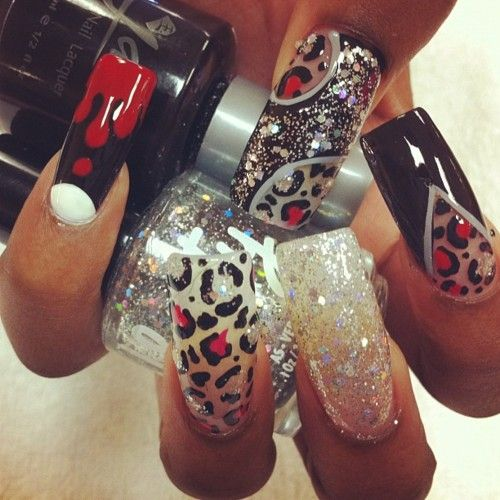 Crazy Nail Art Designs: These Are Crazy Intricate