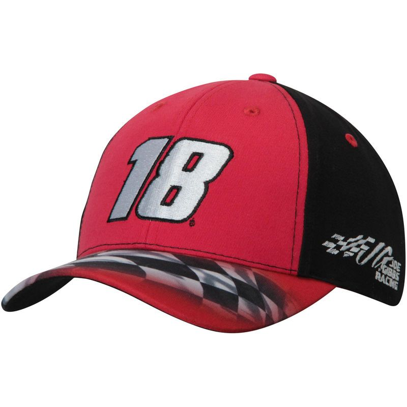 Kyle Busch Youth Driver Salute Hat - Red  e2754d755928