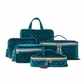 I Need This Nik Sonia Kashuk Collection Velvet Quilted Makeup Bags Bags Makeup Bag Velvet Quilt