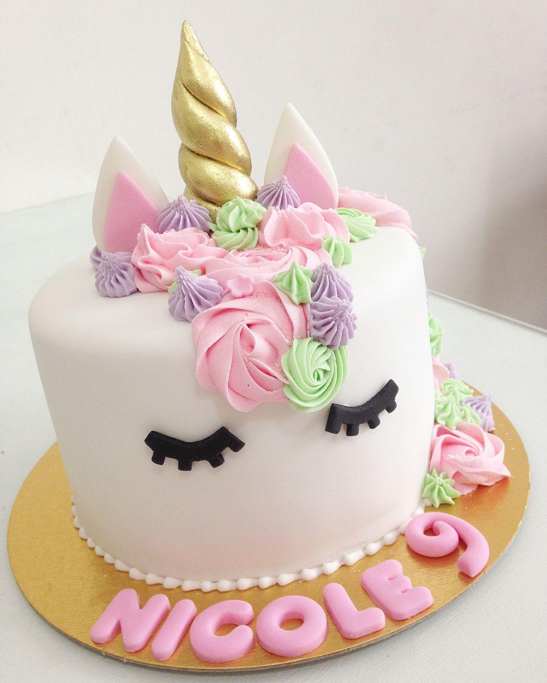 Isecake Isecakebolosedoces Bolos Cakes Unicorn Unicornio