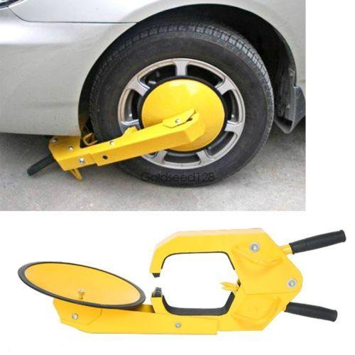 Ultra Max Wheel Lock Rv Boat Trailer Truck Auto Car Tire Boot Clamp