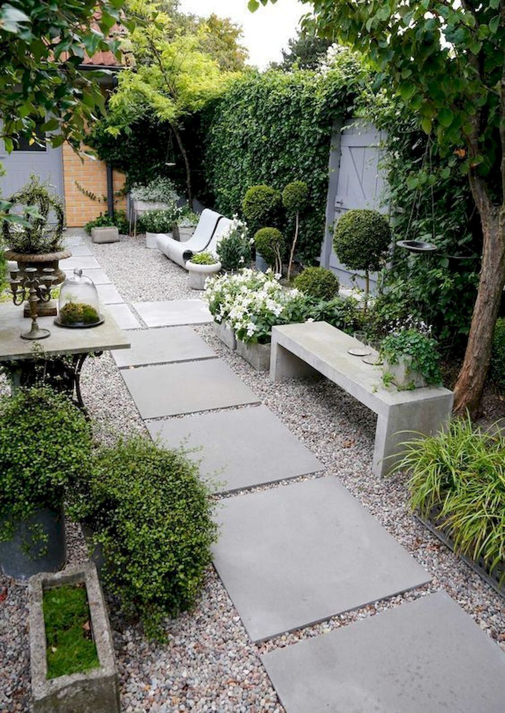 Pin On Garden Small backyard ideas with garden