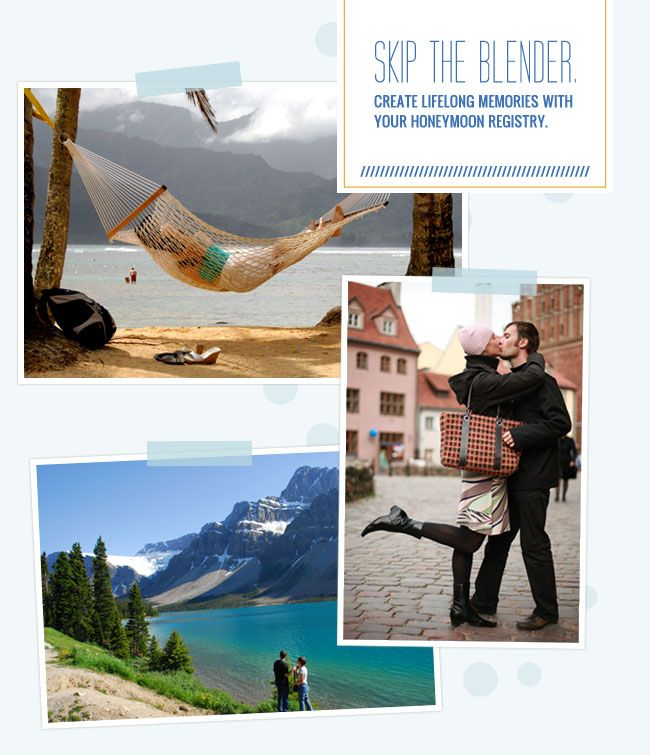 Best Honeymoon Registry: Traveler's Joy Honeymoon Registry