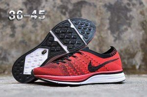 c1daaf411074d Mens Womens Nike Air Zoom Mariah Flyknit Racer Running Shoes Black Red White
