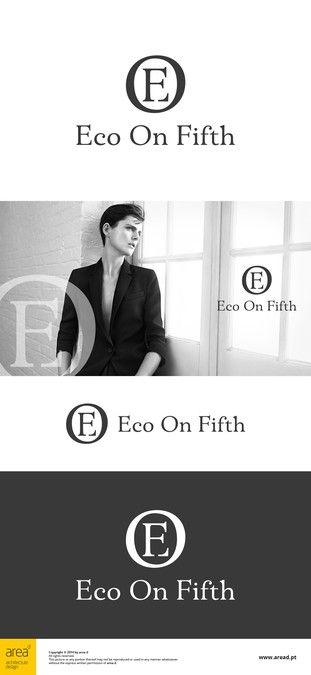 Elegant and Chic Eco Fashion Logo by DiFi
