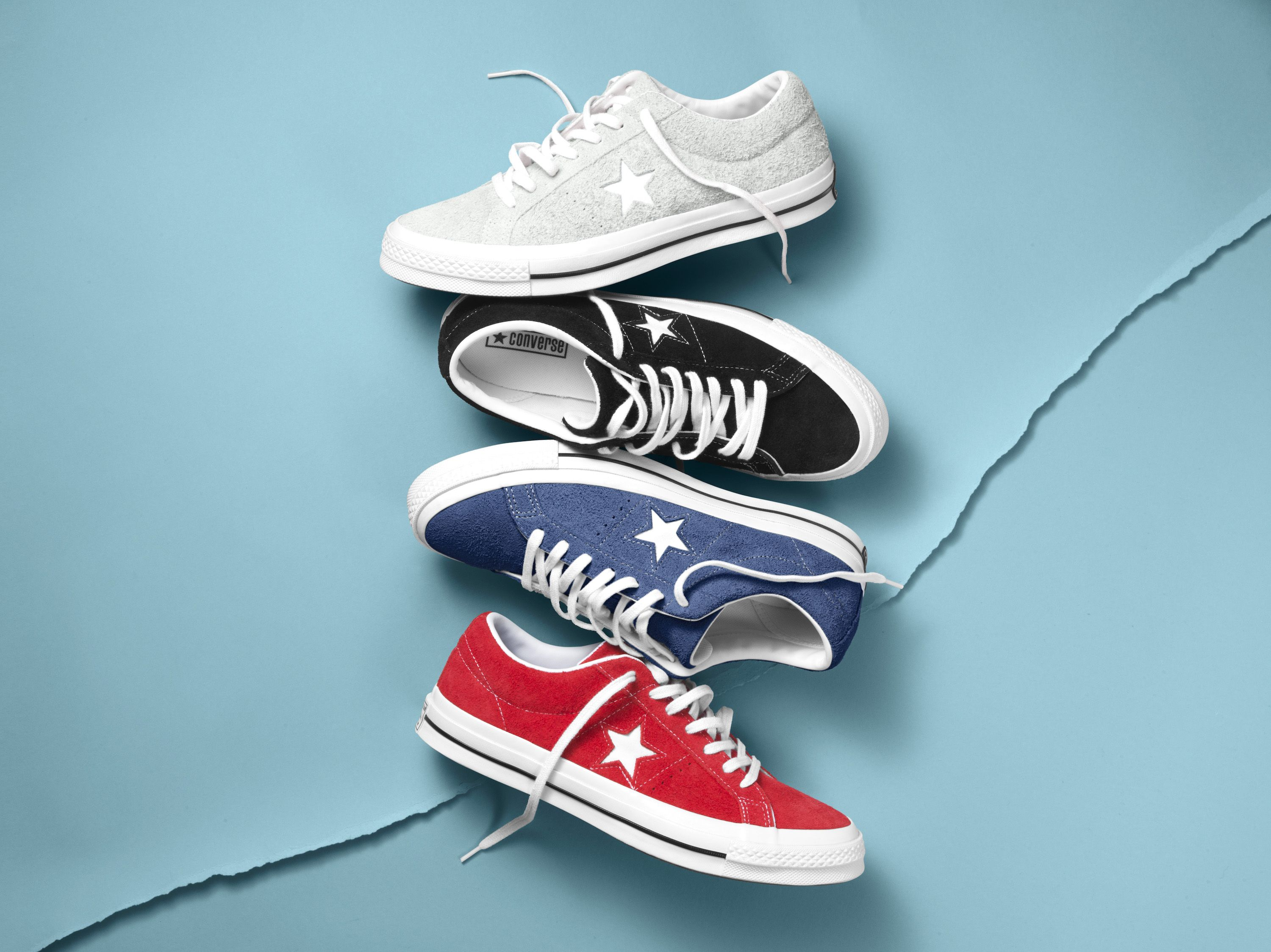 d3dddf7afab The Converse One Star Premium Suede.  RatedOneStar