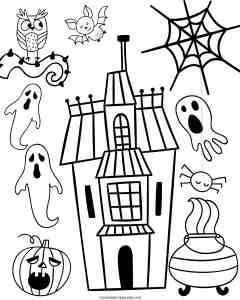 30 Super Fun And Cute FREE Halloween Printables For Kids