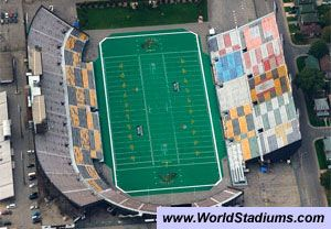 Ivor Wynne Stadium In Hamilton Stadium Canadian Football League