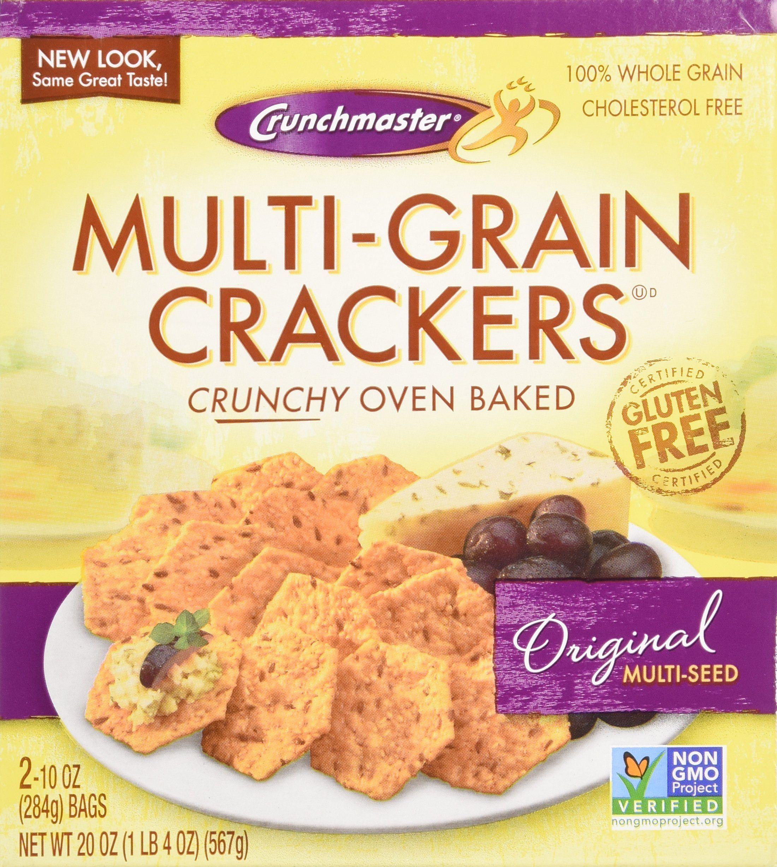 Crunchmaster multigrain crackers gluten free 20 oz