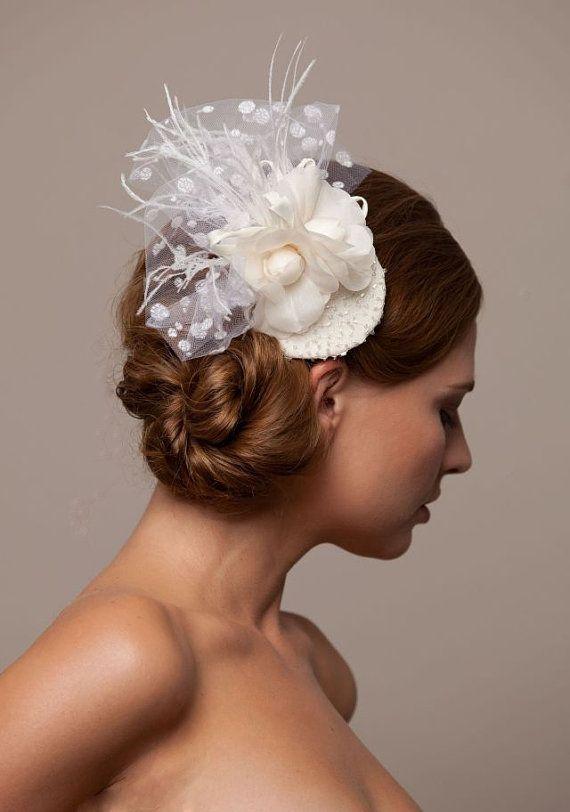 Bridal Headpiece by ArturoRios on Etsy, $120.00