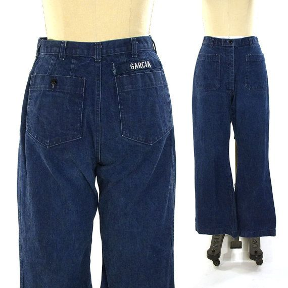 RESERVED Garcia's Bell Bottom Jeans / US Navy Military Flares ...