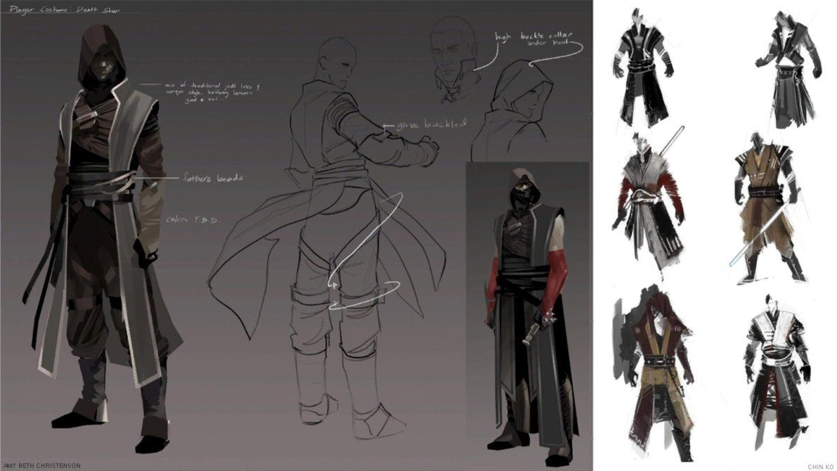 Force Character Design Pdf : Concept art the force unleashed scr by jacek my star