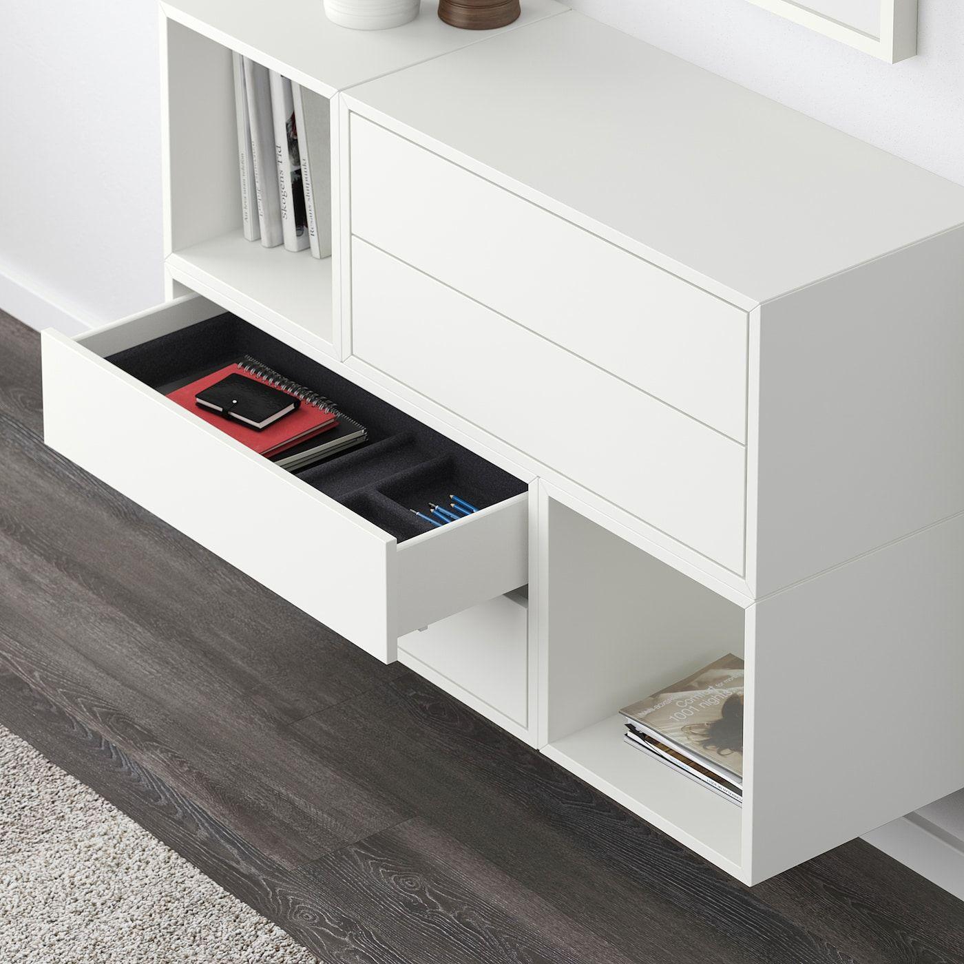 EKET Wallmounted combination white IKEA