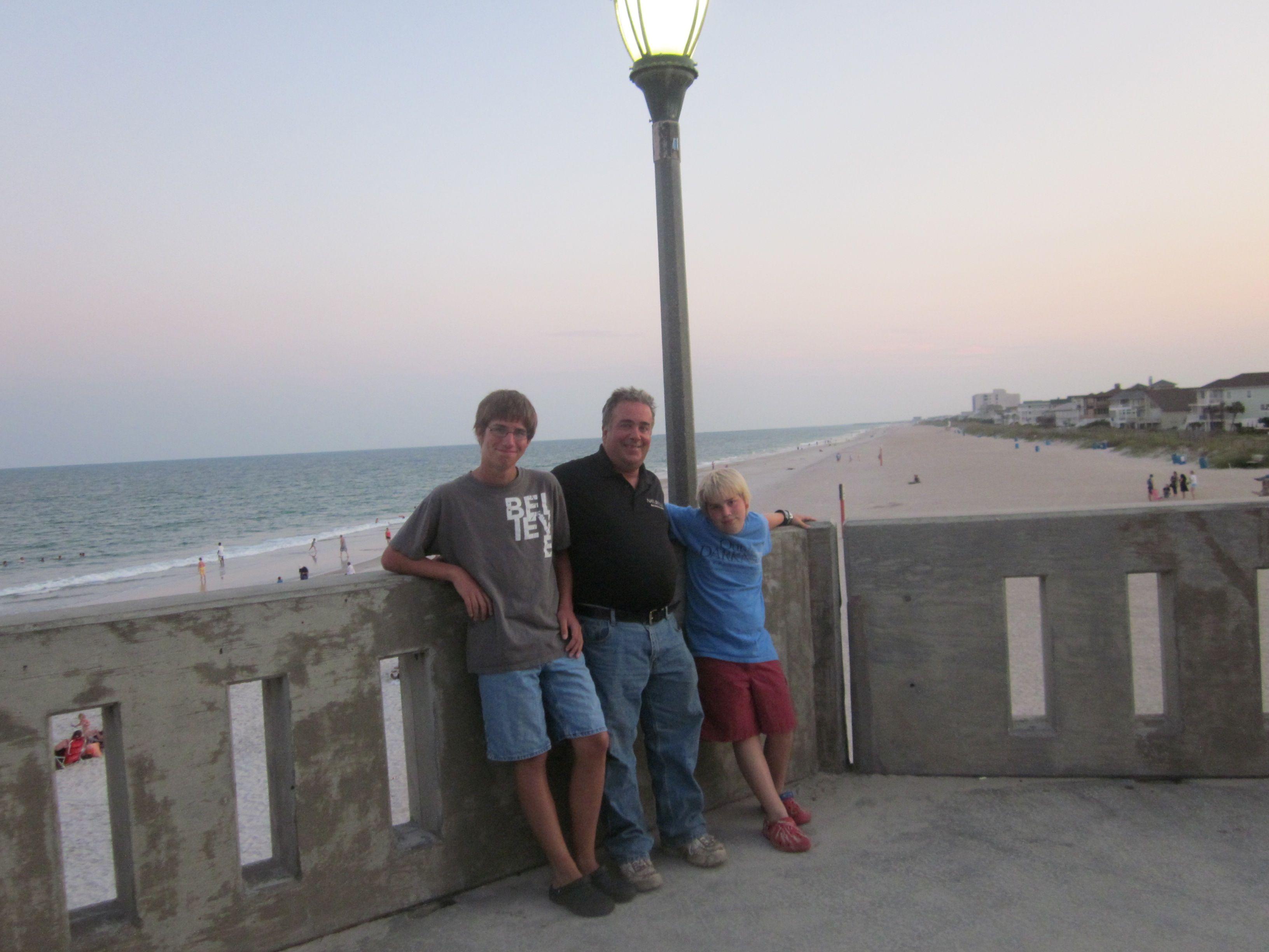 end of Johnny mercer's pier 2011