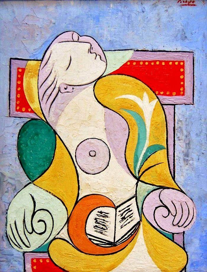 A Leitura - Picasso e suas pinturas ~ O maior expoente da Arte Moderna