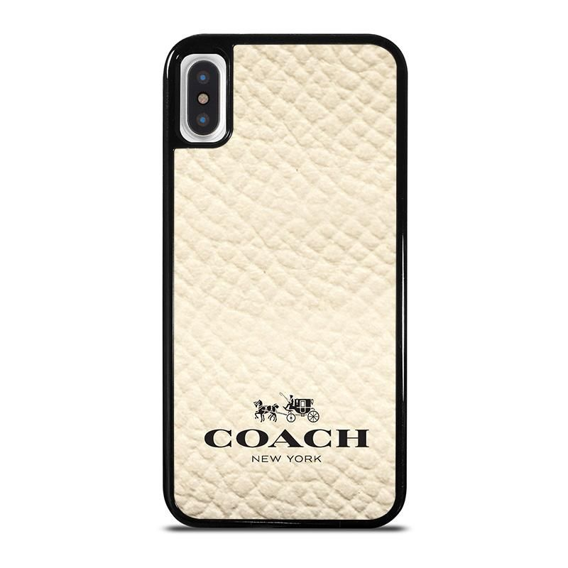 c2724632 COACH NEW YORK WHITE iPhone X / XS Case Cover   iPhone X / XS Case