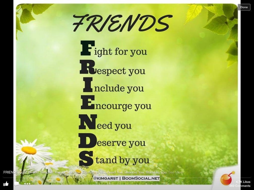 Friends Acrostic Poem Friendship Quotes True Friendship True Friends