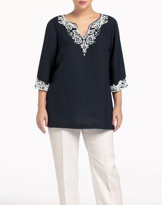 ff92b0bb8d Blusa de mujer Couchel - Mujer - Tallas Grandes - El Corte Inglés - Moda