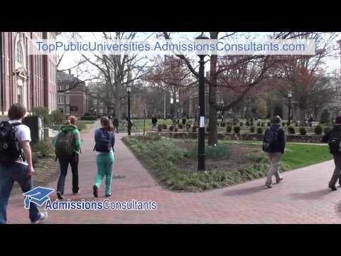 UNC Chapel Hill admissions video