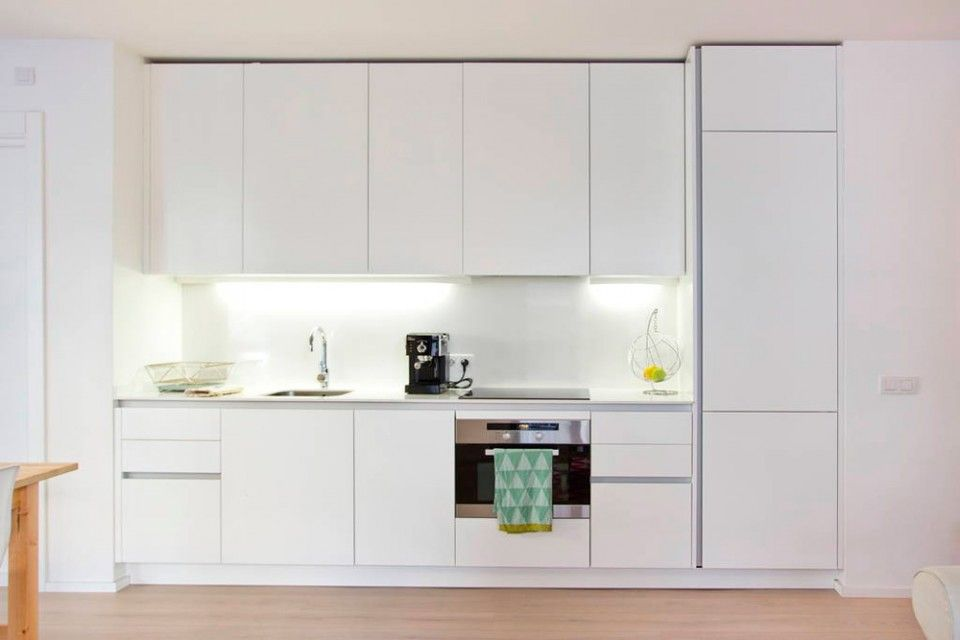 Interiores Minimalistas - Less is More cocina Pinterest