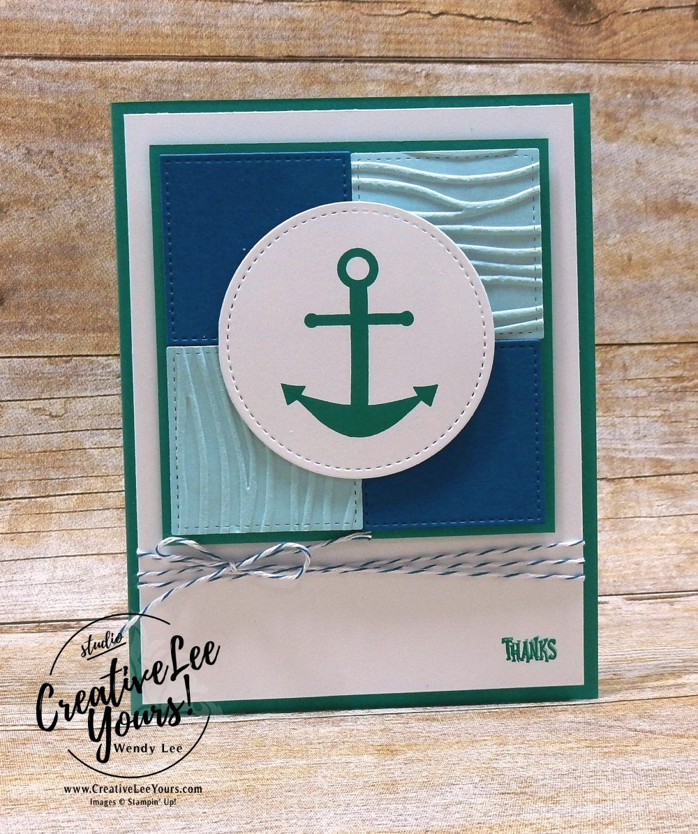 Anchor Thanks cards & tags