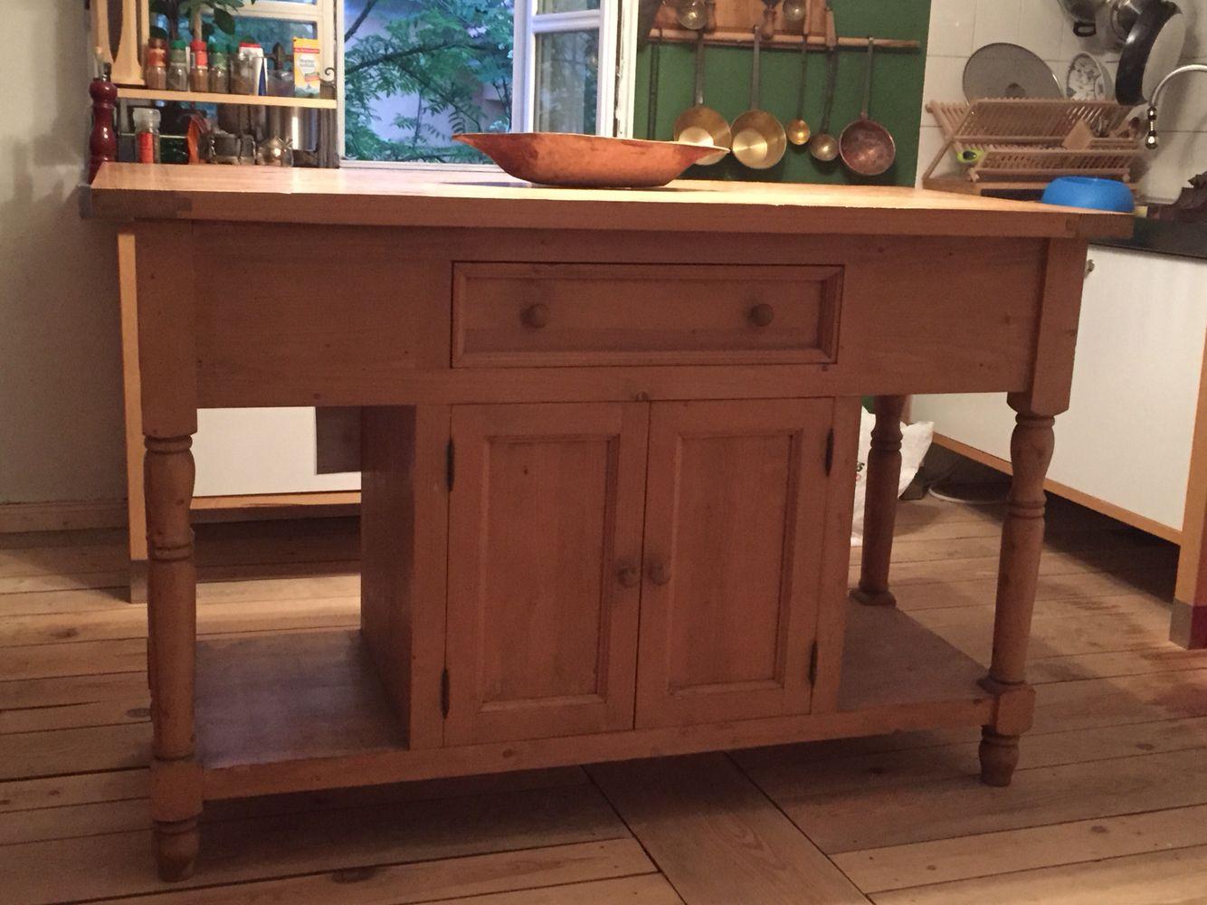 Küche Arbeitstisch   Kuchen Arbeitstisch Aus Weichholz Von Kokoon Shabby Chic
