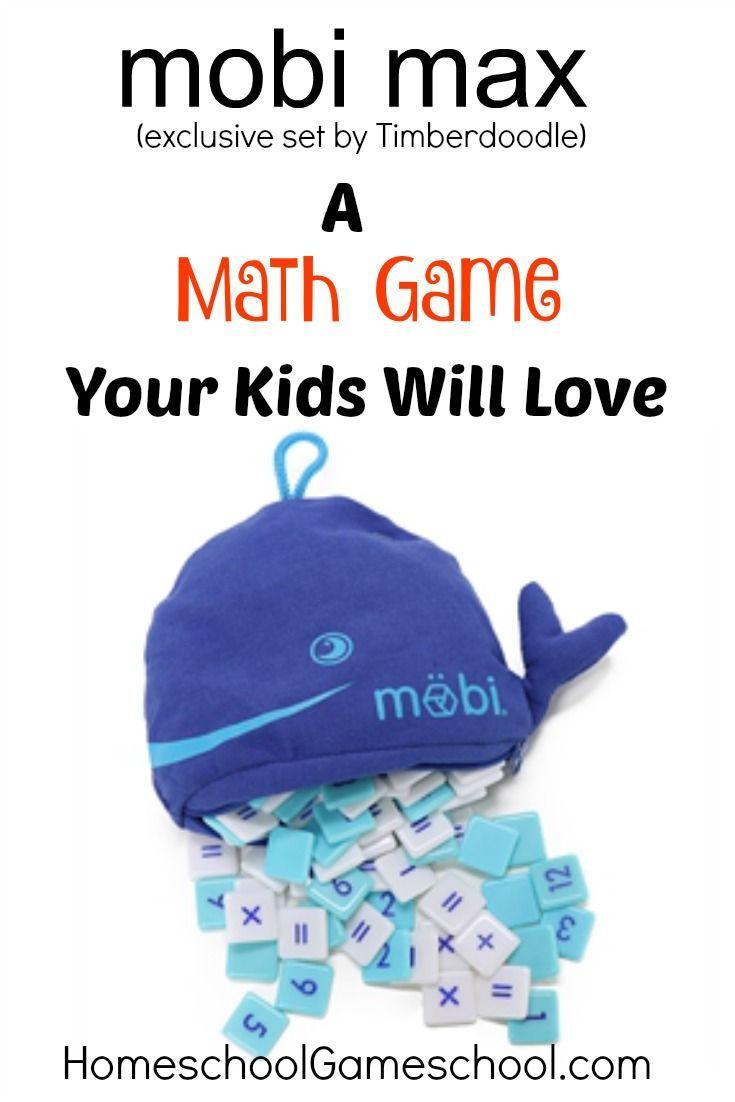 Mobi Max Math Game, a math game for everyone! | Math Intervention ...