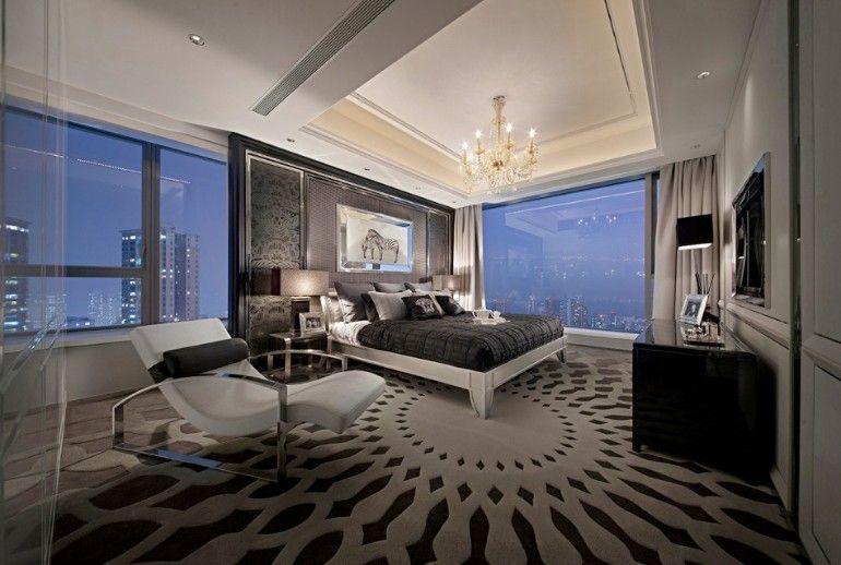 Holen Sie sich inspiriert von diesen wunderschönen Schlafzimmer - wandgestaltung landhausstil wohnzimmer