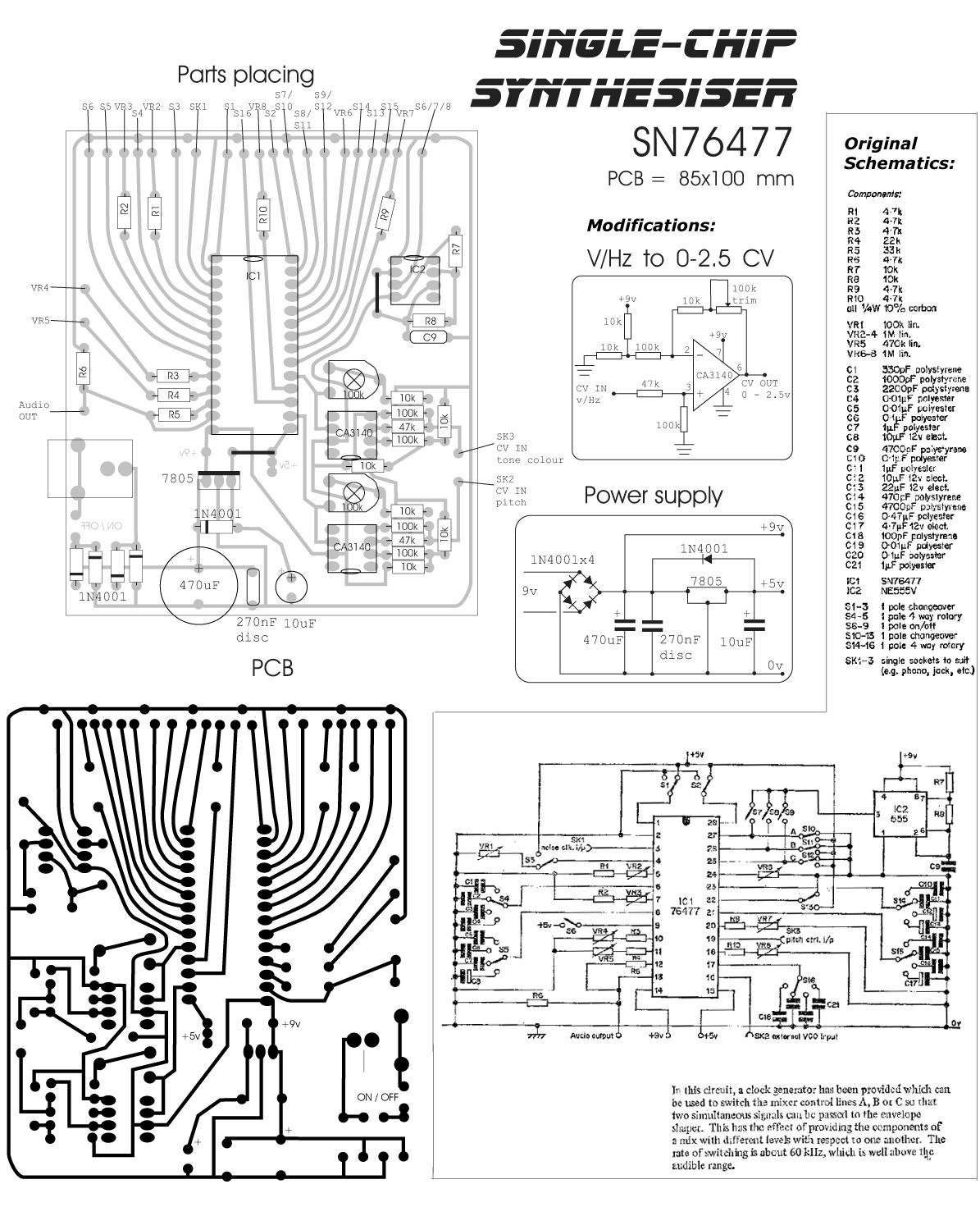 Space Invaders Sound Chip Google Search Synth And Circuitbending Tone Generator Circuits Electronic Diagramelectronics