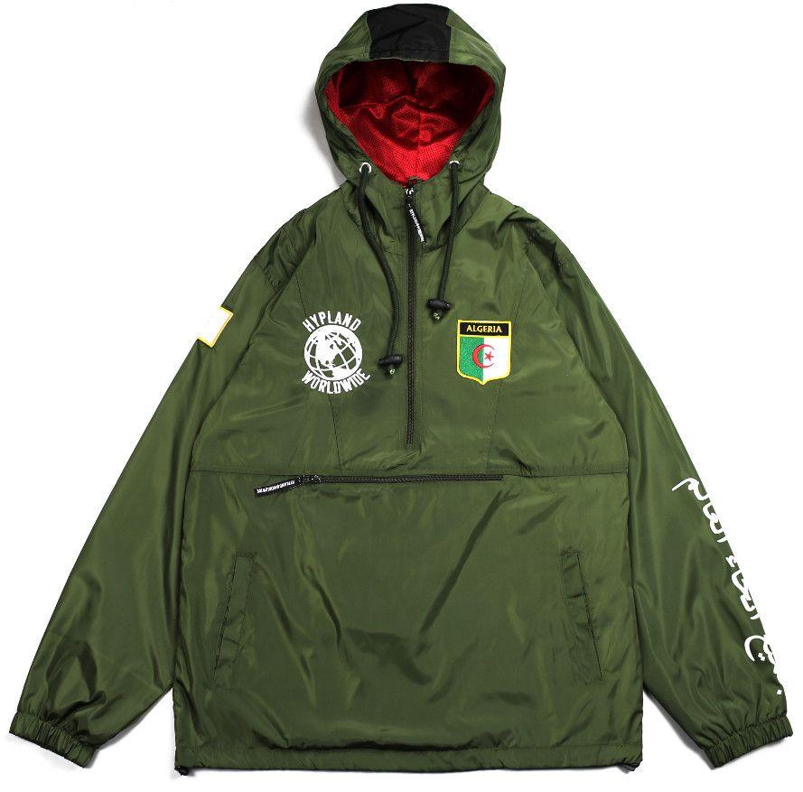 dd36aa057dd0 Algeria world famous jacket (olive)