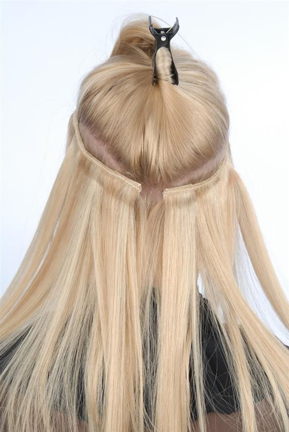 Extensions For Fine Hair Tape In Hair Extensions Pinterest