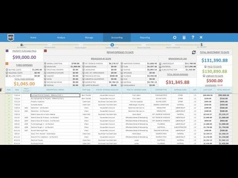 Download House Renovation Budget Spreadsheet FREE Trial Version +++