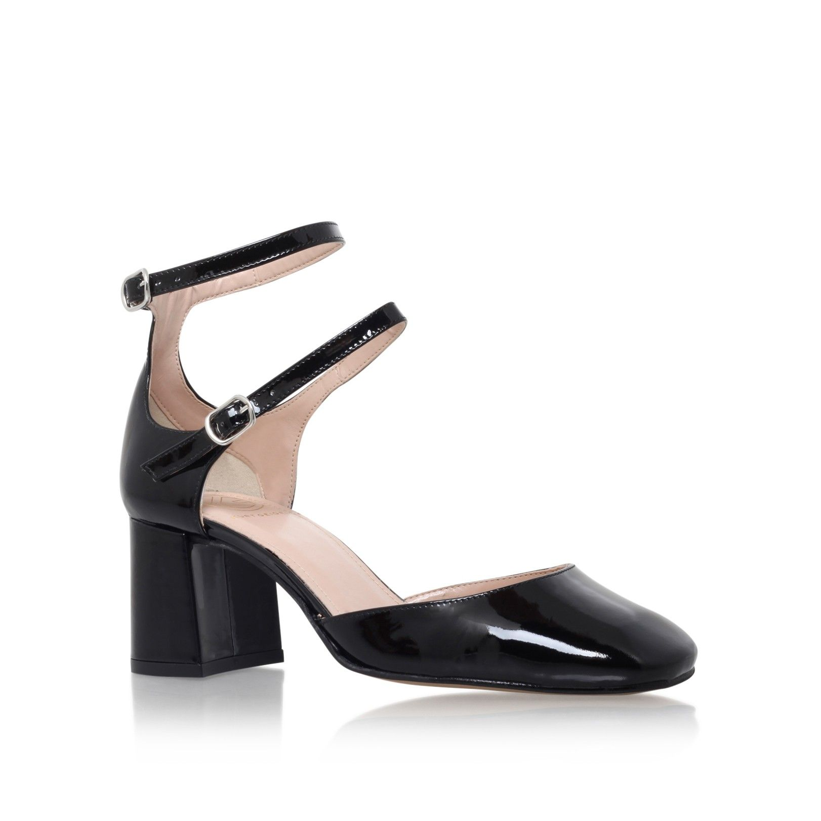 1b305f5df dolly black mid heel court shoes from KG Kurt Geiger